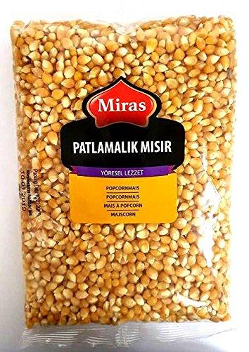 Miras Popcorn Mais Puffmais Premium Qualität - Patlak Misir 900g