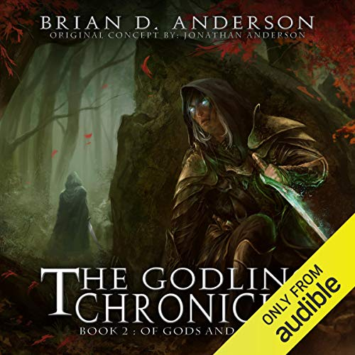 The Godling Chronicles: Of Gods and Elves, Book 2 audiobook cover art