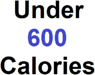 fast food under 600 calories