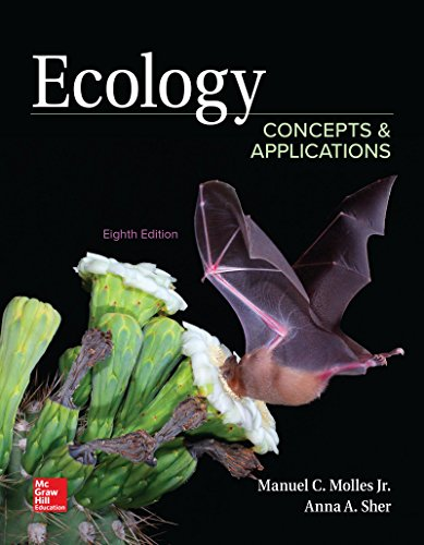 Compare Textbook Prices for Loose Leaf for Ecology: Concepts and Applications 8 Edition ISBN 9781260136913 by Molles, Manuel,Sher, Anna