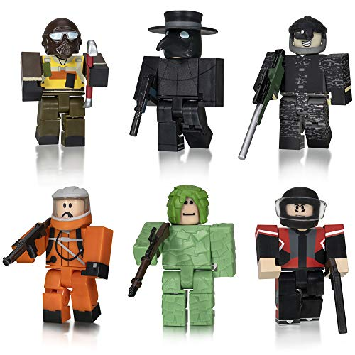 Roblox Action Collection - Apocalypse Rising 2 Six Figure Pack [Includes Exclusive Virtual Item]