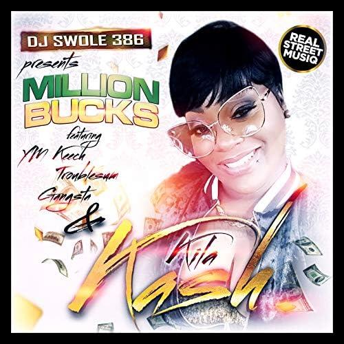 DJSWOLE386 feat. YM Keech, Gangsta, Troublesum & Kila Kash