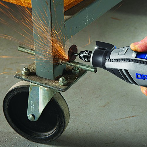 Dremel Rotary Tool in Use