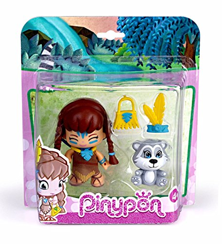 Pinypon 21989 Märchenfigur Pocahontas, unisex-child
