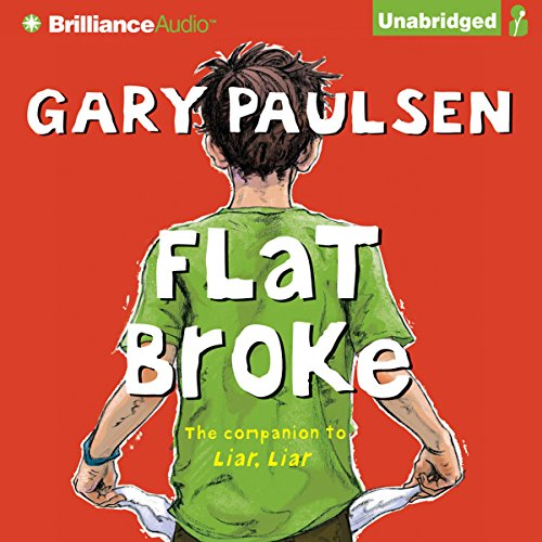 Flat Broke audiobook cover art