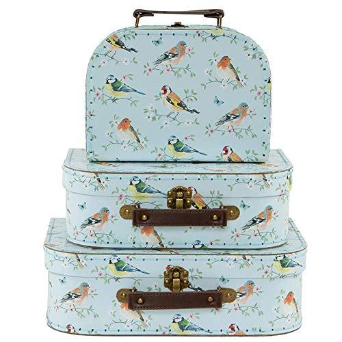 Sass en Belle Tuin Vogels Koffers