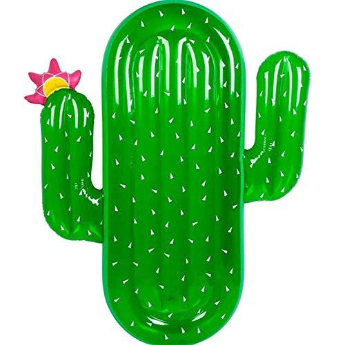 Water Opblaasbare Cactus Drijvende Rij Hangmat Sofa Recliner Drijvend Bed 180 * 130cm/1.6kg Zwembed