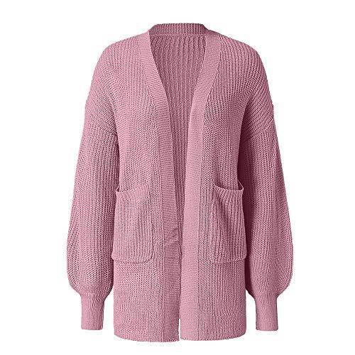 Suéter cárdigan de las mujeres abrigo grande suéter de las señoras