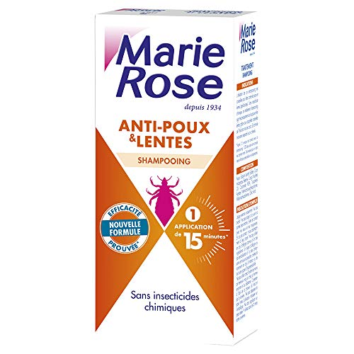 Marie Rose - Shampooing Anti Poux Et Lentes 125ml Marie Rose