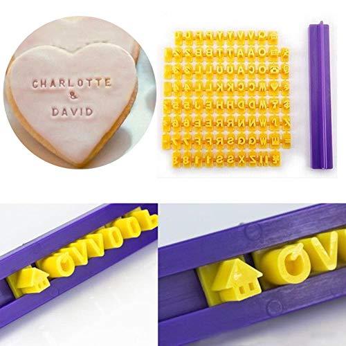 Alphabet Buchstabe Nummer Kekspressen Stempel Braille Drucker Fondant Cutter Form Backen Kuchen Formen Werkzeuge Lg66, Wie Gezeigt