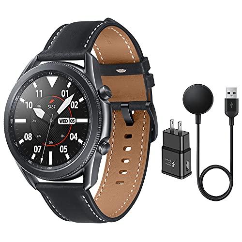 Samsung Galaxy Watch 3 Stainless Steel (45mm) SpO2 Oxygen, Sleep, GPS Sports + Fitness Smartwatch, IP68 Water Resistant,...