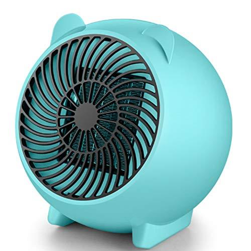 WWWRL Mini Calentador De Ventilador, Radiadores Eléctricos De Bajo Consumo, Control Inteligente...