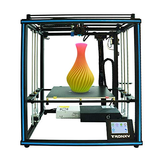 TRONXY X5SA 3D Printer Rapid Assembly DIY Kit Auto Leveling Filament Sensor Resume Print Cube Full Metal Square with 3.5 inch Touch Screen Large Printing Size 330330400