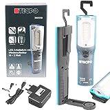 TECPO 300550 AKKU Werkstattlampe 1000 Lumen 27 SMD LED´s 10+3 Watt 6500 Kelvin IP 54 Arbeitslampe...
