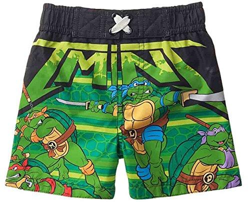 Nickelodeon Baby Boys Teenage Mutant Ninja Turtles Swim Trunks, Green (12 Months)