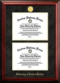 University of Central Florida University Double Degree Diploma Frame (8.5 X 11)