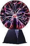 Bola de plasma mágica, bola electrostática sensible al tacto, bola de flash intermitente, juguete dagógico, luz estroboscópica, flash mágico en una bola de cristal