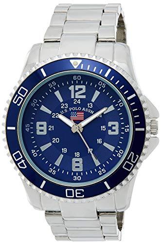 U.S.POLO ASSN. Reloj analógico para Hombre de Cuarzo con Correa en Aleación US8621