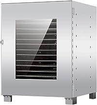 Máquina de conservación de alimentos para el hogar Secador de frutas, Secador de frutas multifuncional con calefacción de 360 ° y gran capacidad, 16 capas, 800W
