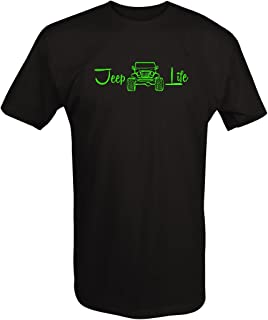 The Life 4x4 Off Road Lifted T Shirt for Men