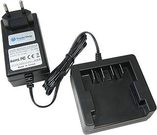 Trade-Shop 24 V Li-Ion batteriladdare laddningsstation för Greenworks 29322 29807 29837 29842 29852 10-tums Cordless Chain...