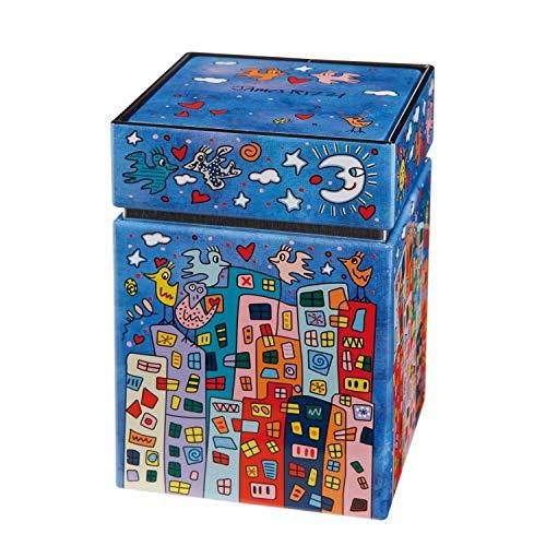 Goebel Not getting Around Stockschirm Pop Art James Rizzi Bunt Textil