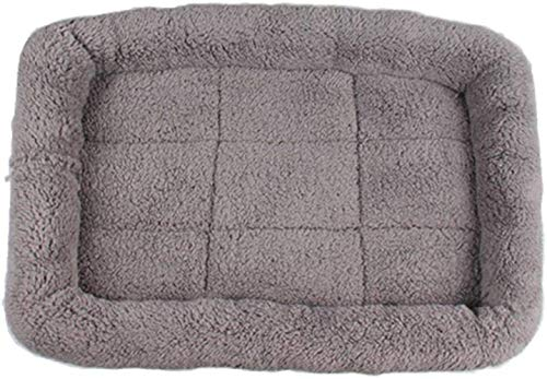 TETHYSUN Cama para mascotas Suministros para mascotas suave y caliente para mascotas Alfombra transpirable portátil plegable nido de perro nido de mascotas lavable