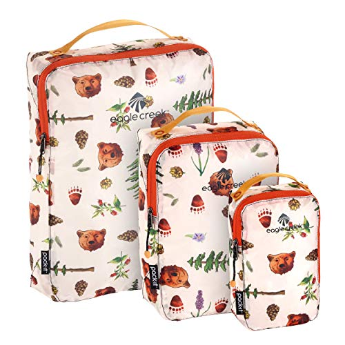 Eagle Creek Specter Packing Cubes, (XS/S/M), Golden State Print