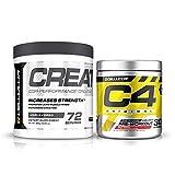 Cellucor C4 Original Pre Workout Powder,Creatine Bundle