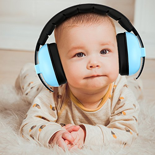 Image of Baby Headphones Hearing Protection Headphones Noise Reduction for Babies and Toddlers Baby Earmuffs(Ages 3-24+ Months) Infant Hearing Protection Earmuff Soft & Adjustable Baby Ear Protection
