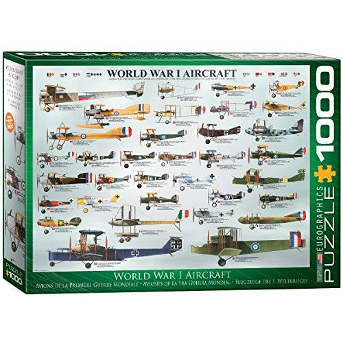 EuroGraphics puzzel oorlogvliegtuig van de 1e Wereldoorloggen.