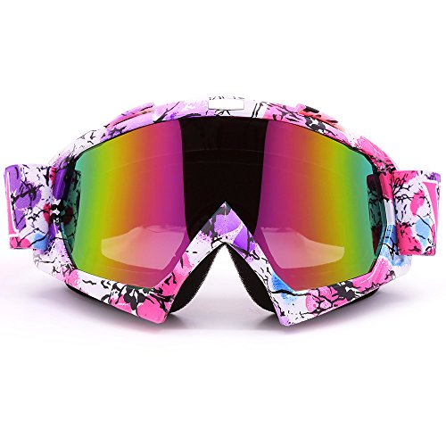 ZDATT Motocross Goggles, ATV Goggles Adult Dirt Bike MX Goggle Glasses...