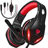 Gaming Headset with Microphone for PS5...