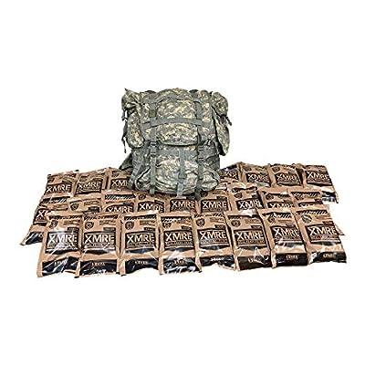 Ozark Outdoorz, LLC MOLLE II ACU Ruck - XMRE GO Bag - 24 XMREs