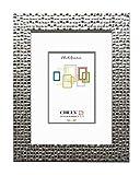 Chely Intermarket, Marco de Fotos 15x20 cm (Plata) Mod-215| Estilo galería | Marco de Madera para Decoración de Casa | Fotografías de Boda | moldura con Relieve.(215-15x20-0,45)