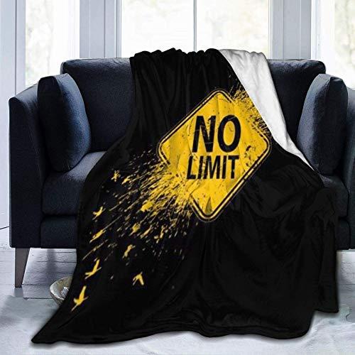 N \ A Manta de forro polar ultra suave, Ni-r-v-a, cálida decoración del hogar, manta para sofá cama, 20 x 60 pulgadas