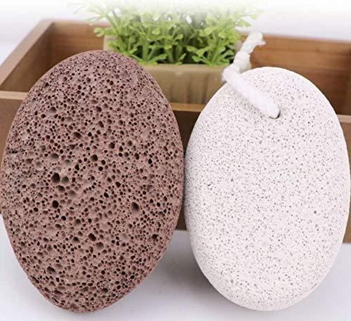 Bimsstein fußpflegeScrubstone 2 Stück eine dicke eine feine Fußplatte Fußpflege