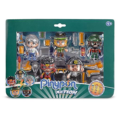 Pinypon Action - Pack de 5 Figuras (Famosa 700014490)