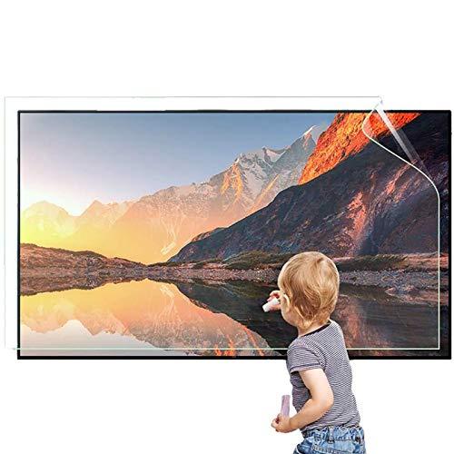 RPOLY 32-75 Pollici Protezione dello Schermo TV, Pellicola Salvaschermo Anti Luce Blu Antiriflesso Filtri Protezione Protegge Occhi per TV LCD, LED, OLED e QLED 4K HDTV,47inch/1044x590mm