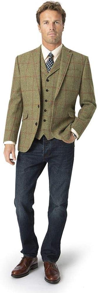 Men's Valtos Max 50% OFF Harris Tweed Tailored Taverner Brook by Fit Jacket Charlotte Mall