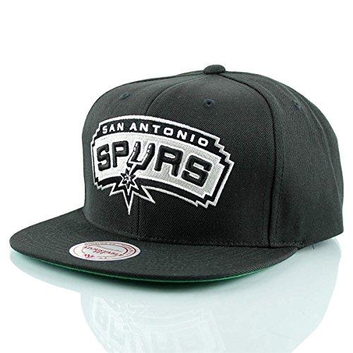 Mitchell & Ness San Antonio Spurs Wool Solid NT78Z Snapback Cap Kappe Basecap NBA