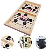 Fast Sling Puck Game,Slingshot Board Games Toy,Paced Winner Board Games Toys for Kids & Adults,2 Player Board Games