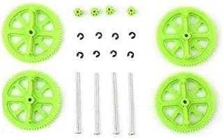 Per Parrot AR Drone 2.0 Quadcopter Pezzi di ricambio del motore pignone Gears & Shaft Set (Colore: Verde)