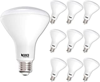 Sunco Lighting 10 Pack BR30 LED Bulb 11W=65W, 5000K Daylight, 850 LM, E26 Base, Dimmable,..