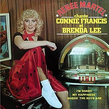 Renée Martel chante Connie Francis et Brenda Lee