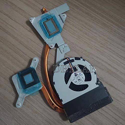 DBTLAP Ventilador Compatible para Sony Vaio SVE171 SVE171A11M 60.4MR06.001 KSB05105HB-AL70 Ventilador con Disipador de Calor