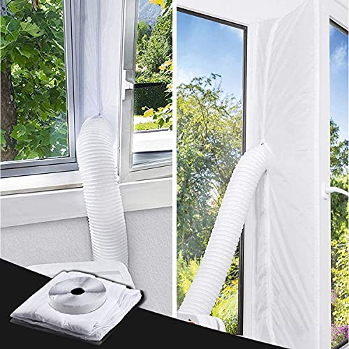 TOPOWN 560cm/220'Universal Window Seal for Portable Air Conditioner and Tumble Dryer,Easy to Install-Seal for AC...