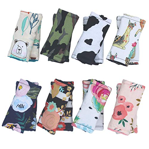 Baby Car Seat and Stroller Strap Covers, Soft Seat Belt Pad, Carry Cushion, Infant Head Support