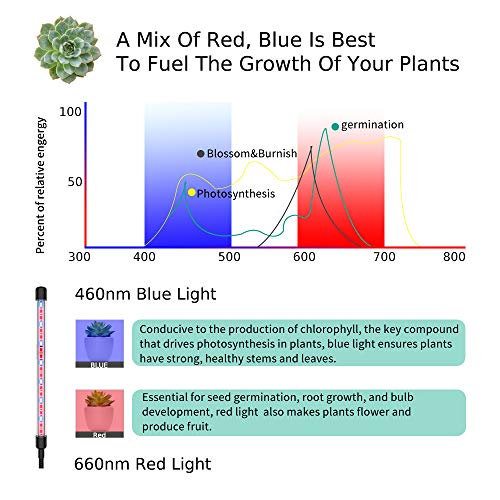 Yoyomax Full Spectrum Red-Blue LED Grow Light