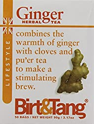 Powerful anti-oxidants that are believed to help the body fight off illness Rich, warm and soothing infusion Ginger tea fuses piquant ginger with cloves and purer tea Ideal brew to keep you on your feet through the winter season